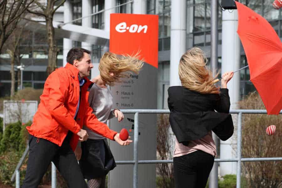 Erfolgreiche Social Media Aktion zu Ostern: Versteckte Eier auf dem E.ON Gelände
