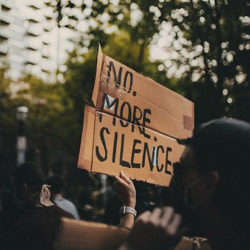 No. More. Silence. - Chancengleichheit