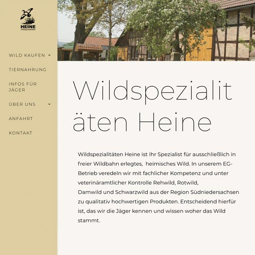 wildhandel heine relaunch- Fabian Praschl Performance Marketing